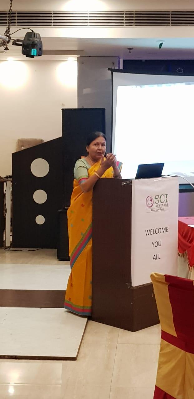 dr shivani sachdev gour at event