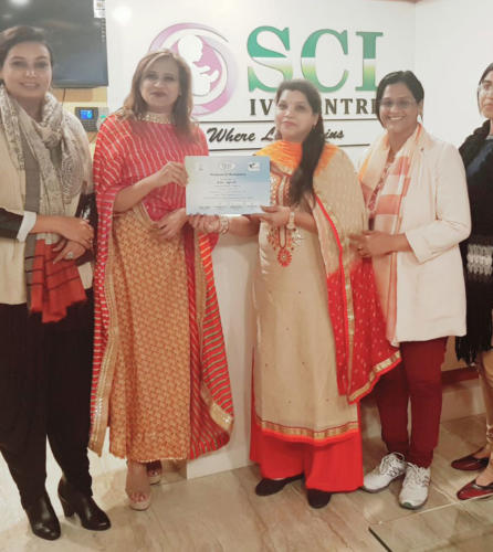 Dr Shivani Sachdev Gour IVF Congo