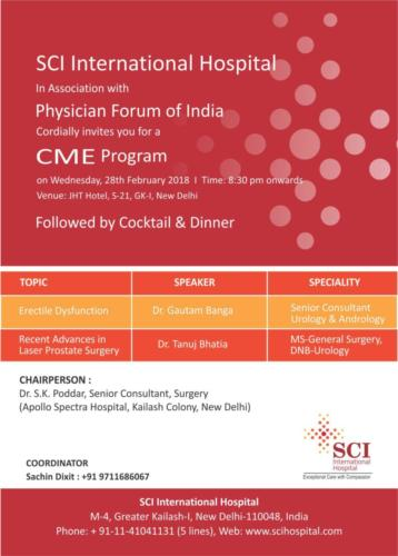 CME Program by Dr Shivani Sachdev Gour