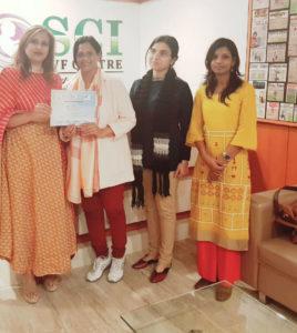 Dr Shivani Sachdev Gour SCI IVF India