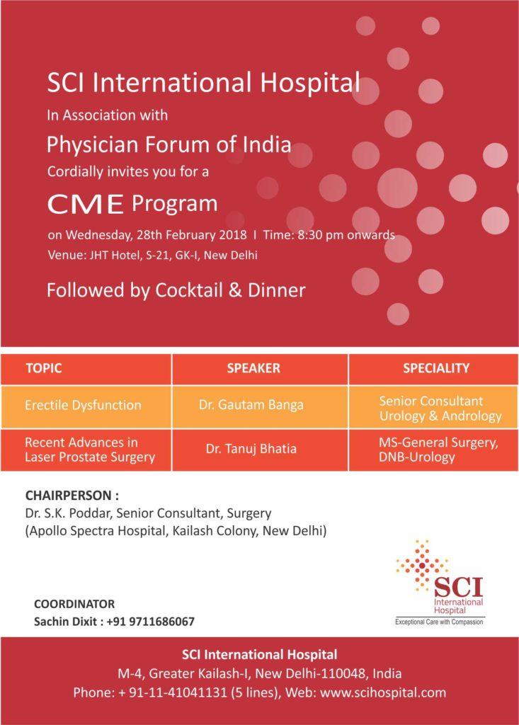 CME Program by Dr Shivani Sachdev Gour