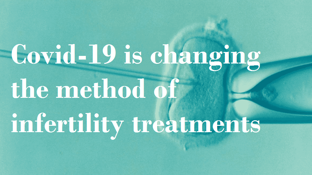 Covid-19 is changing the method of infertility treatments