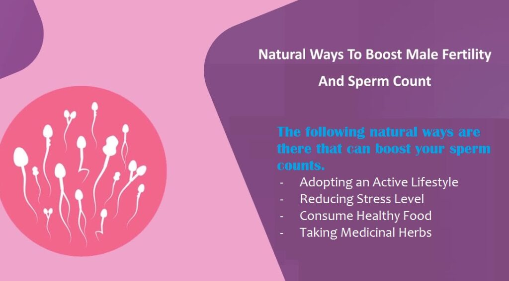 Natural Ways to Enhance Male Fertility