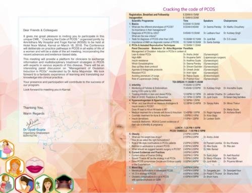 CME Events by Dr Shivani Sachdev Gour